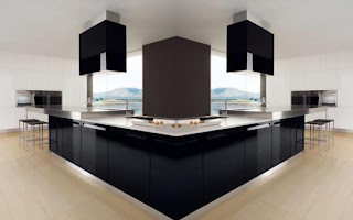 Dise o y decoraci n de cocinas cocinas negras como for Cocinas super modernas