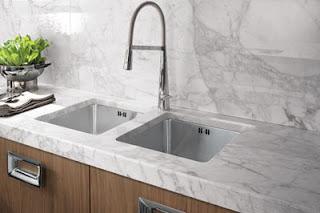 Dise o y decoraci n de cocinas encimeras por encima de for Precios y colores de encimeras de silestone