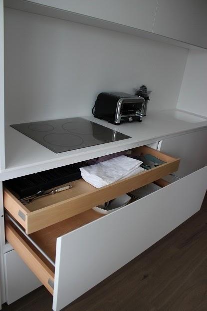 Dise o y decoraci n de cocinas el interior de los muebles de cocina los mejores herrajes para - Interiores de cajones de cocina ...