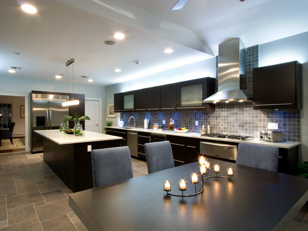 Dise o y decoraci n de cocinas cocina con peninsula una for Enchapes cocinas modernas