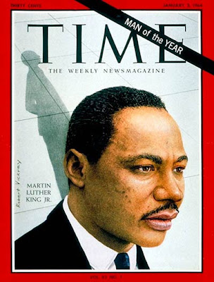 Martin Luther King 1994 Man of the Year cover