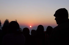 Tourists Viewing Sunrise in Antu Danda