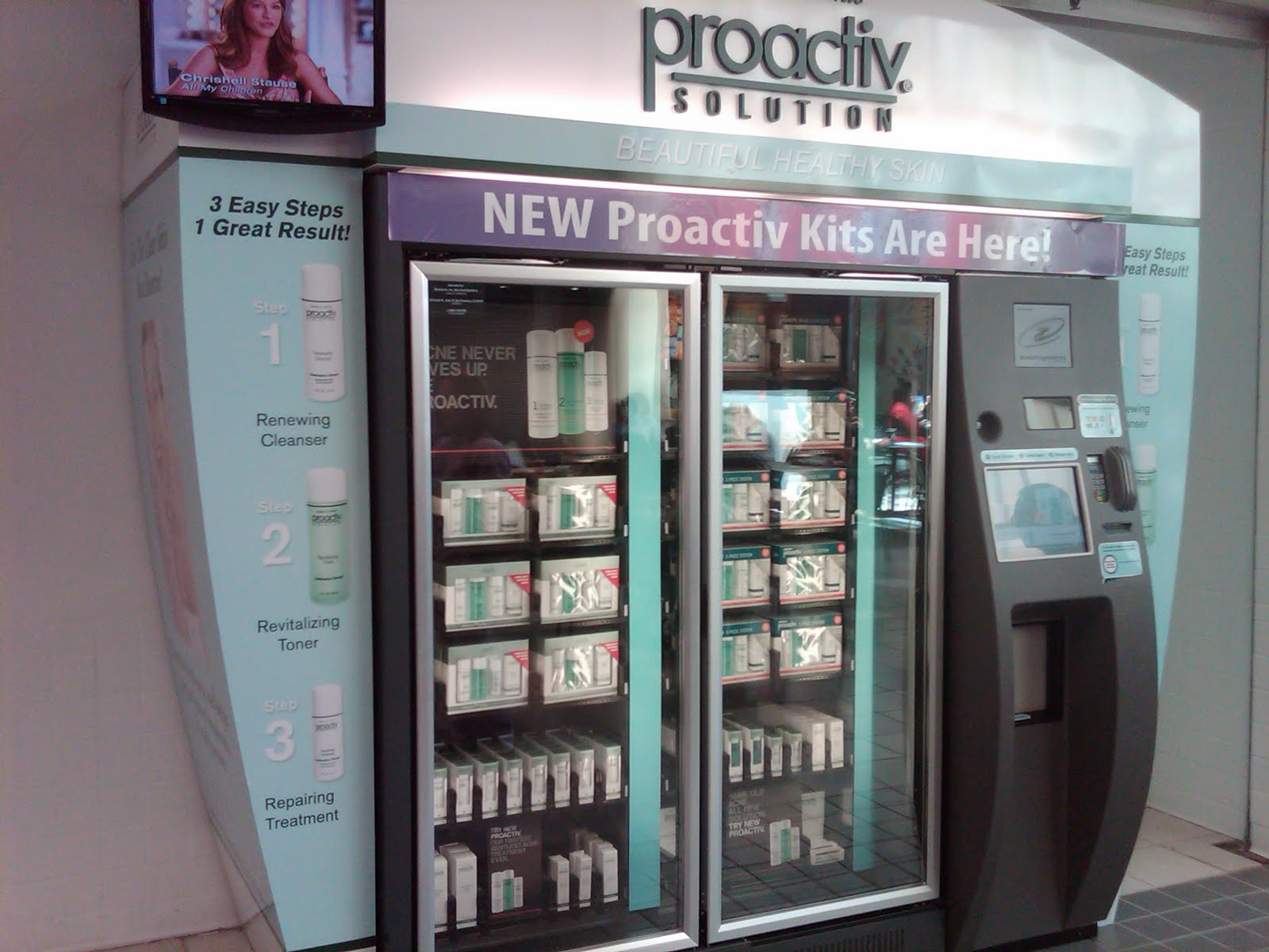 Proactiv Solution ZoomShops offer a quick and convenient way for consumers to purchase America's #1 Acne Treatment. Automated retail brings Proactiv to the locations where consumers shop--and at a substantially lower cost to distributors than the traditional manned kiosk.