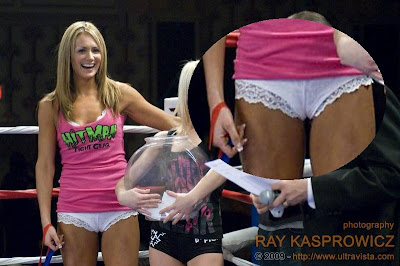 Ring Girl Cameltoe