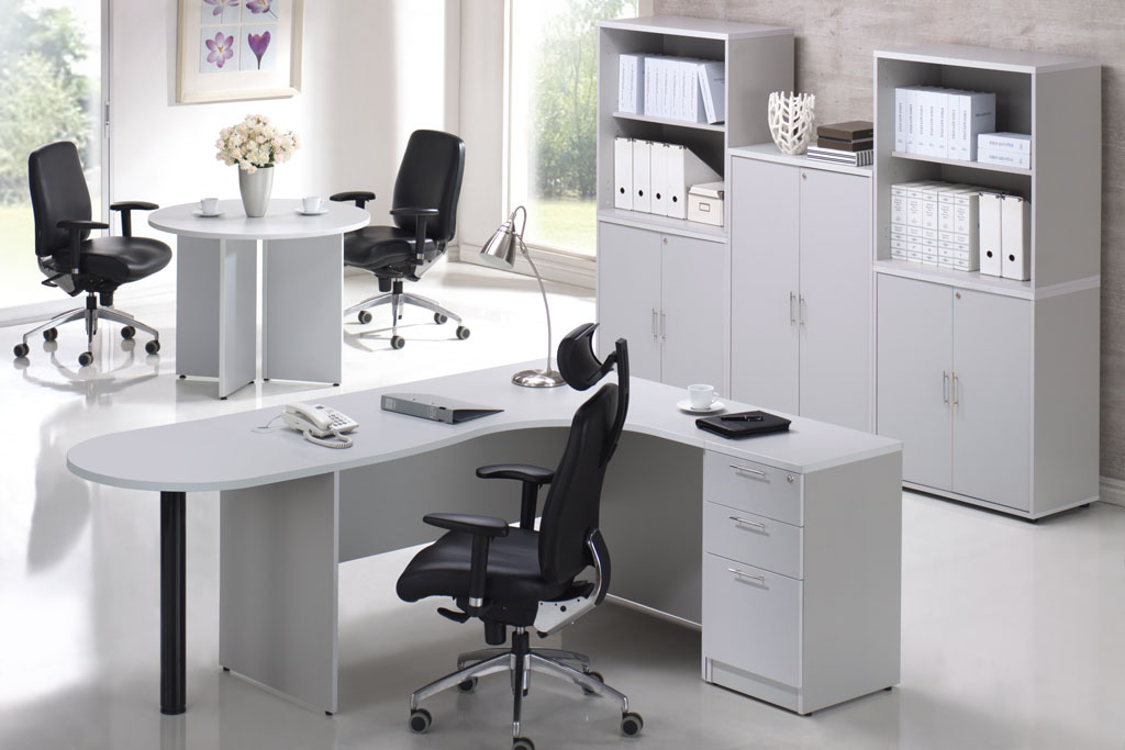 27 Innovative Gray Office Furniture Yvotube Com