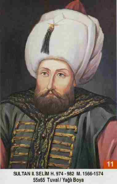 11- II. Selim (1566–1574) Selim_II
