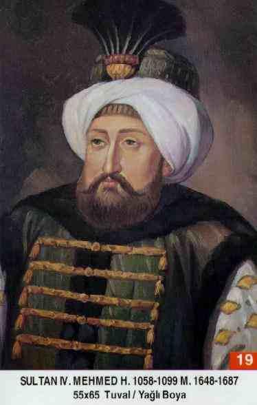 19 IV. Mehmed (1648–1687)Mehmed_IV