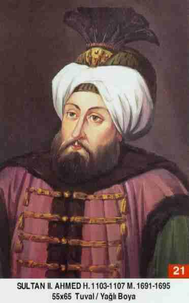 21 II. Ahmed (1691–1695)Ahmed_II2
