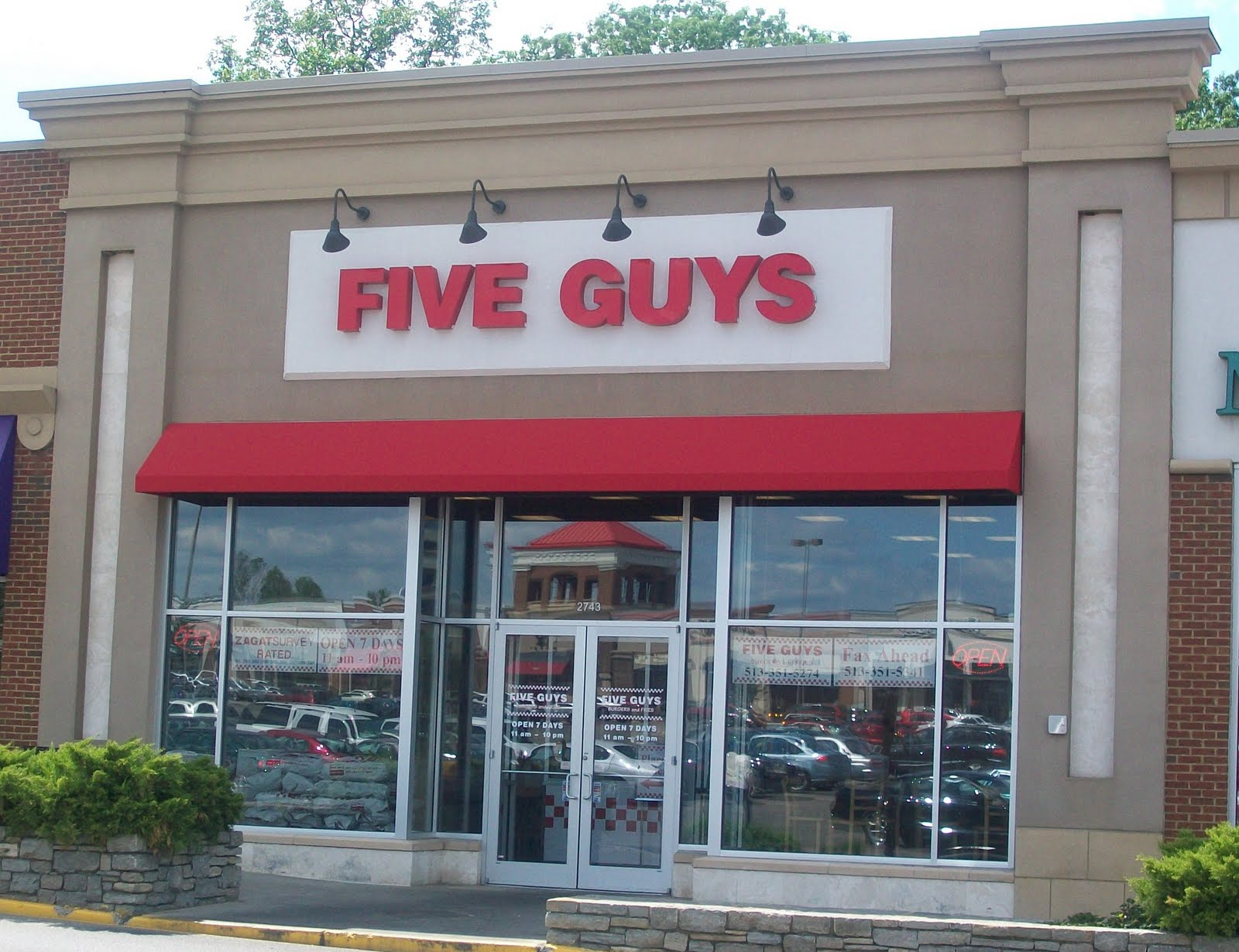 Finally - Five Guys!
