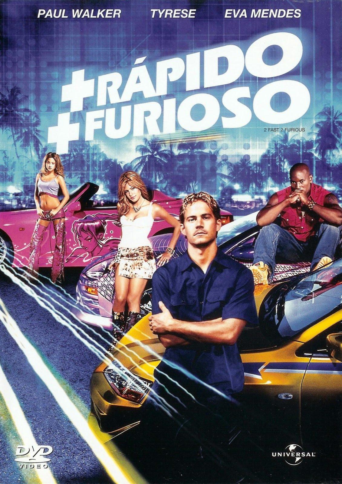 Rapidos y Furiosos 2 (2003) [Latino]