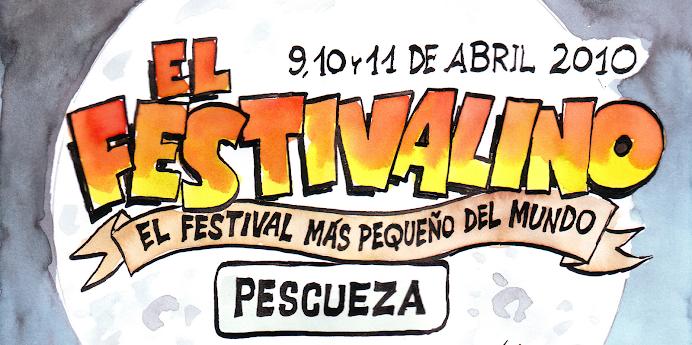 """FESTIVALINO 2010 PESCUEZA """"FESTIVAL MAS PEQUEÑO DEL MUNDO"""""""