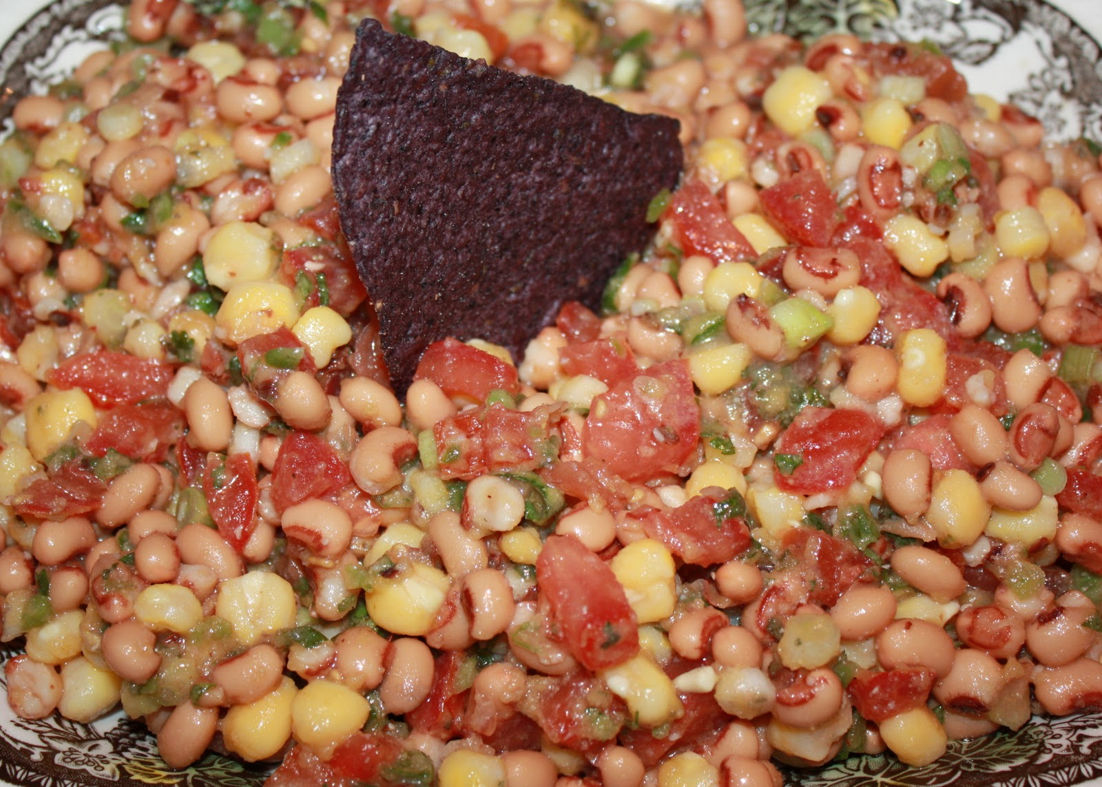 Texas Caviar (Black-Eyed Peas)