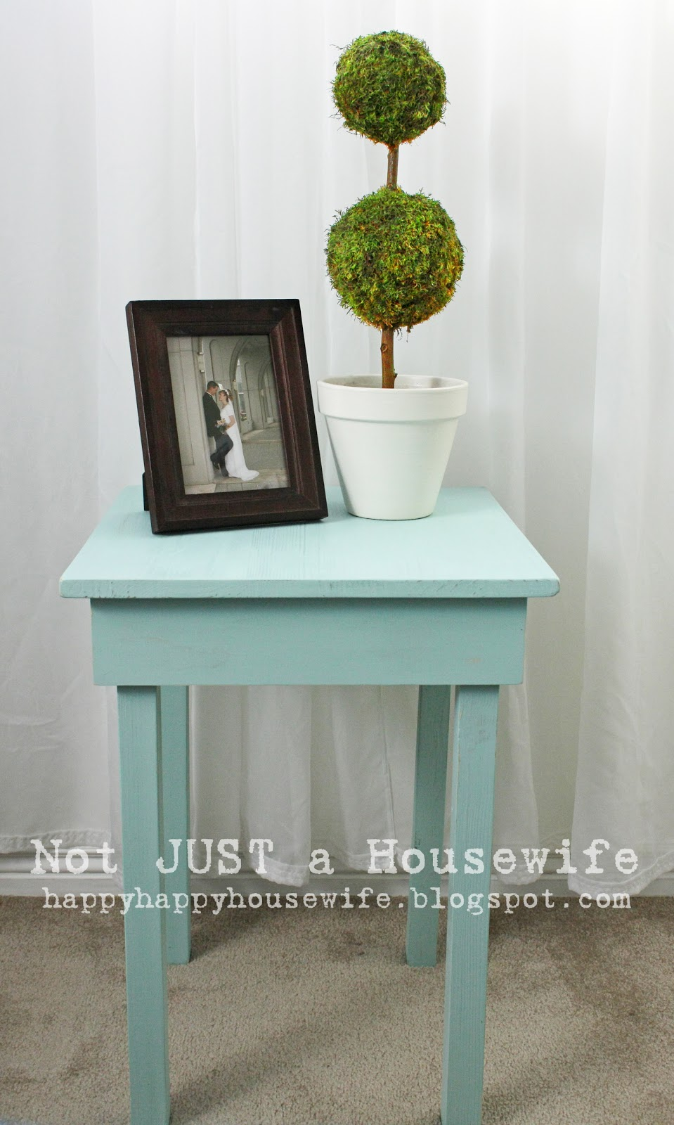 how to build a simple side table | stacy risenmay