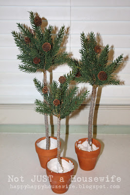 8 Pine Tree Topiary Tutorial