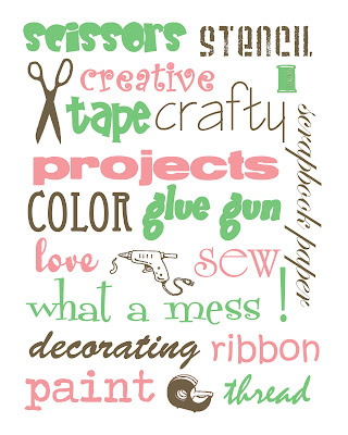 craftprintable4 FREE Craft Room Printables