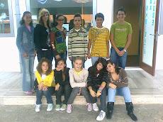 Les élèves de la 8ème année Groupe 2 (Alunos do 8º ano grupo 2)