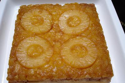 A Year with Martha: Pineapple-Mango Upside Down Cake