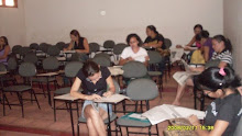 Participantes da Oficina do Programa de Extensão Olho de Boto