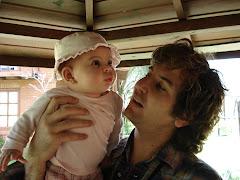 Rosarito y papá