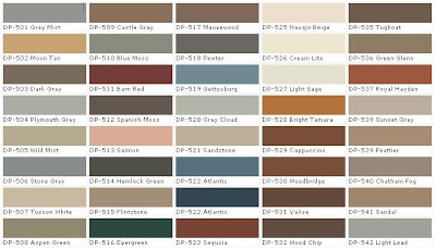 Behr exterior wood stain color chart car interior design for Exterior wood stain colours chart