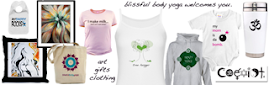 Blissful Body Yoga CafePress Store