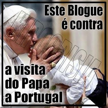 Ratzinger não queremos a Pedofilia, nem com Segredos de Fátima