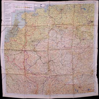 wwII belgium map
