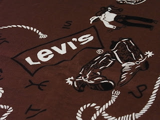 vintage bandana levi's