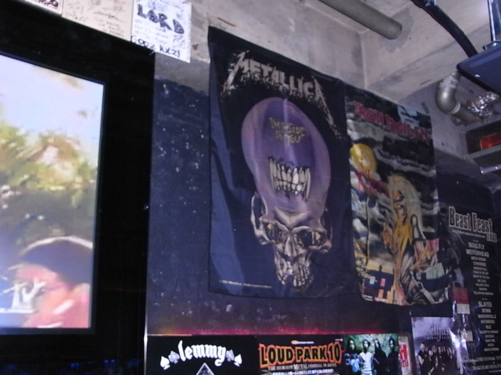 rock bar godz shinjuku