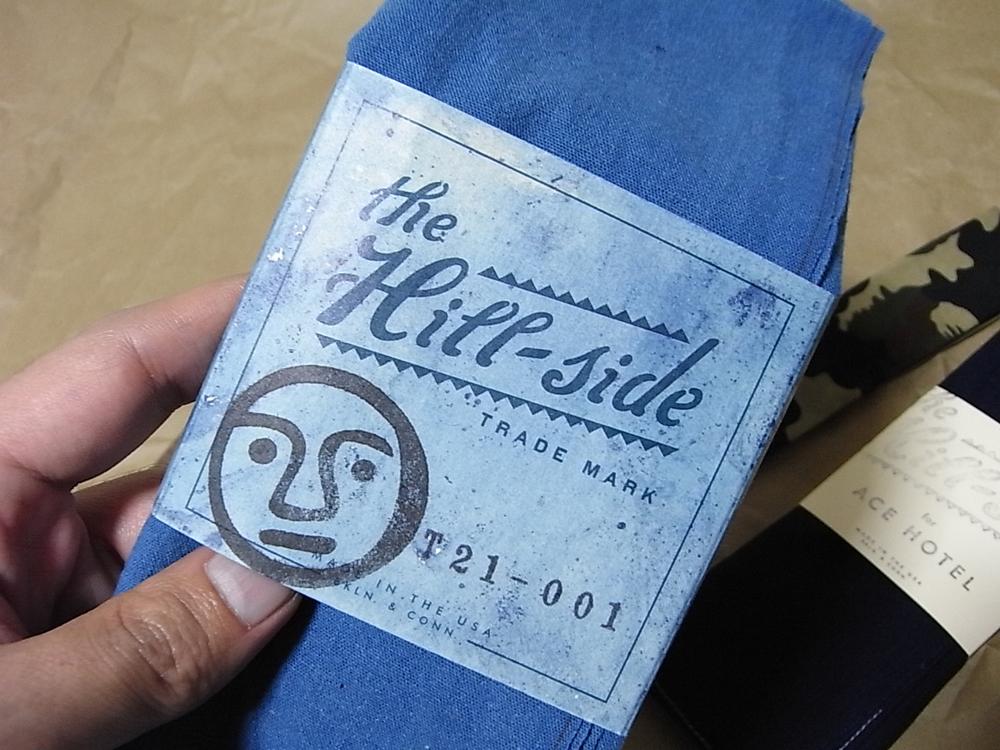 the hill-side bandana for tender co.