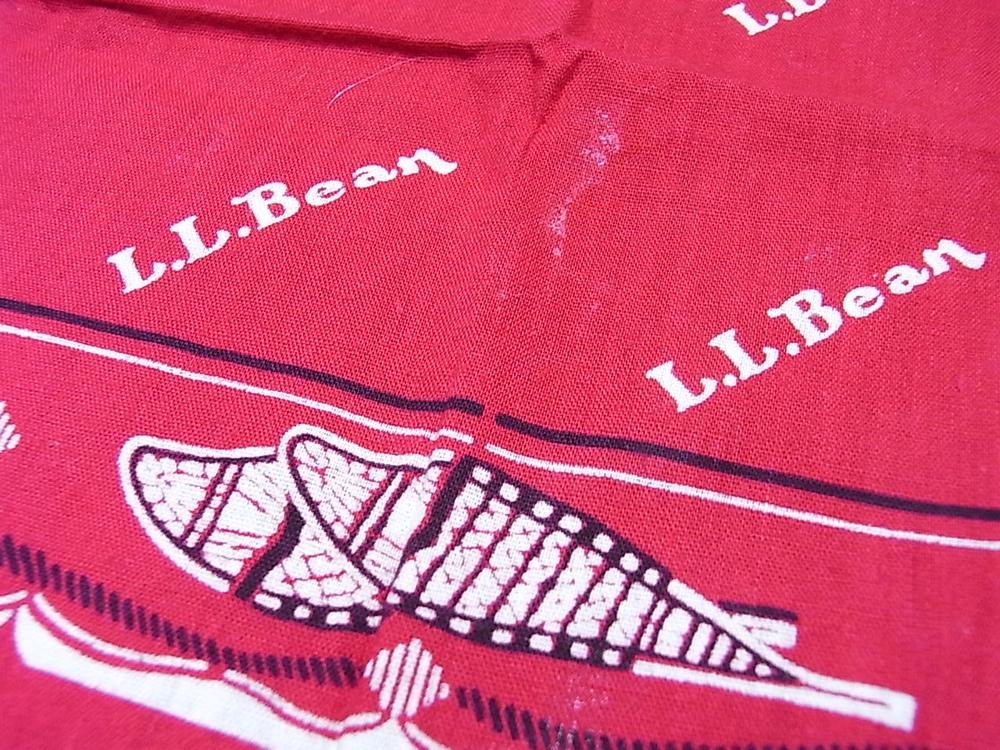 vintage l.l.bean bandana