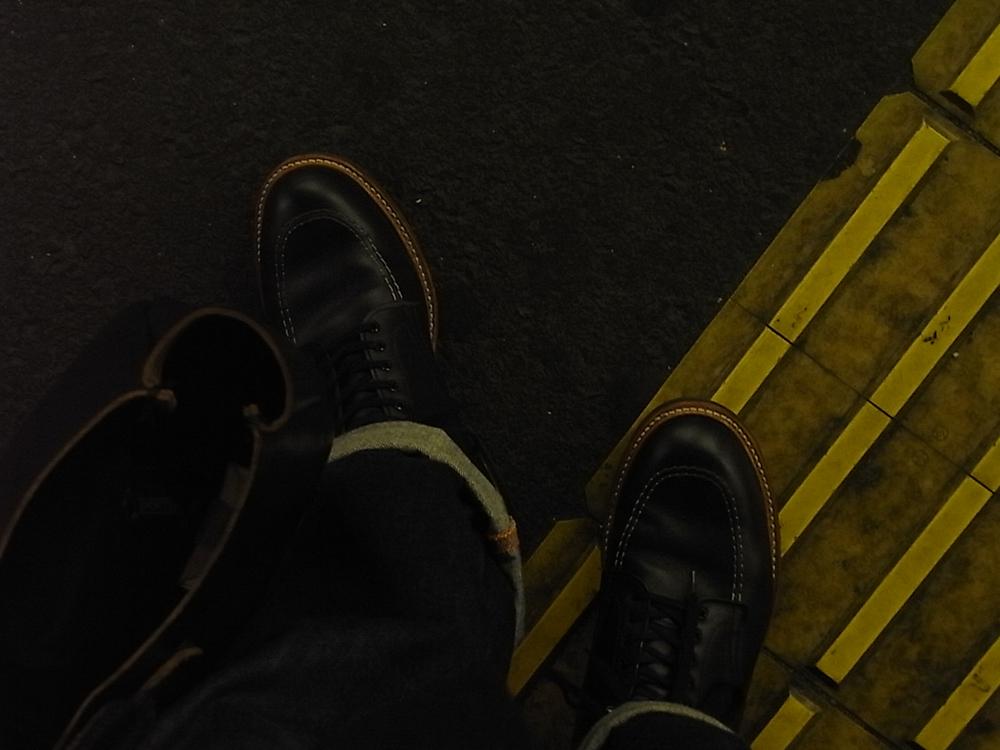 alden indy boots black