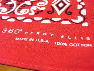 360 perry ellis bandana