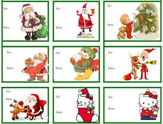 xmas+tags+escolamaravilha Etiquetas para presentes de Natal Christmas tags Des etiquettes pour les cadeaux de Noel para crianças