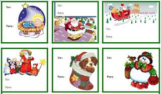 xmas+tags+escolamaravilha2 Etiquetas para presentes de Natal Christmas tags Des etiquettes pour les cadeaux de Noel para crianças