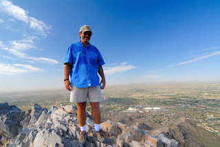 Standing on the summit of Piestewa Peak