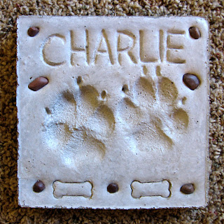 Charlie's birthday plaque