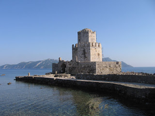 The Odyssey: Venetian castle at Methoni, Greece