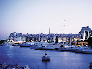 Publicity shot of Piraeus, Greece