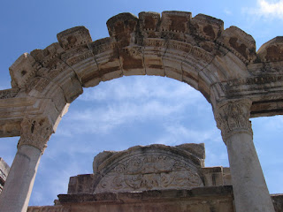 Ancient arches at Ephesus, Turkey