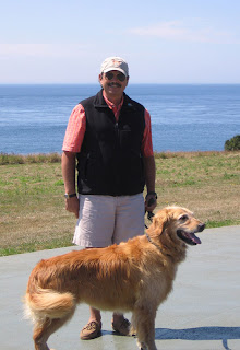 Charlie and me on Whidbey Island in August 2008