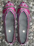 Sepatu Bordir Halus