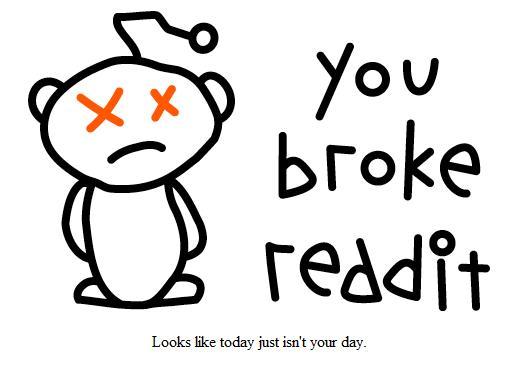 gambar pesan error pada reddit