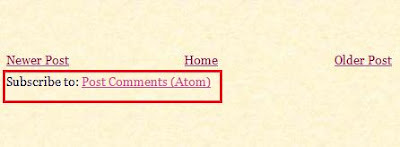 How to remove Subscribe to Posts Atom link