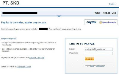 how to make payment using paypal