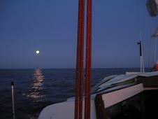 Noc na morzu