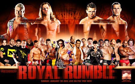 wwe raw 2011 wallpaper. WWE Royal Rumble 2011
