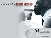 American Gangster Jay-Z album