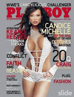 wwe diva candice michelle playboy cover