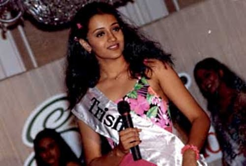 Trisha in Miss Chennai 1999
